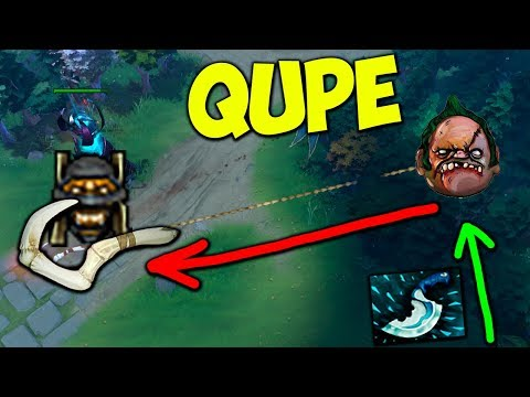 Qupe Pudge Hook Master Dota 2