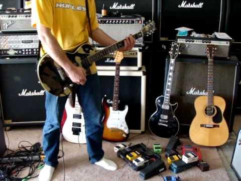 ESP LTD WA-600 Will Adler, Music Man HD-130 head-4x12 classic cab, Boss ML-2&OS-2 pedal