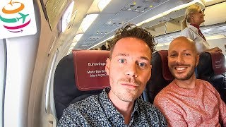 Eurowings Economy Class in der A320 nach Stockholm | GlobalTraveler.TV