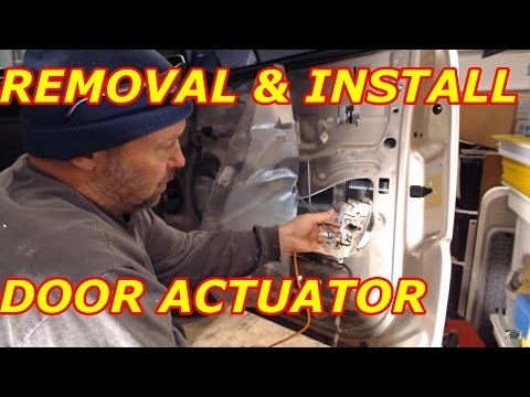 HOW TO REPLACE A CHEVY TAHOE DOOR ACTUATOR