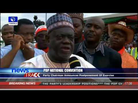 Muazu Aliu Reacts To PDP Nat'l Convention Postponement