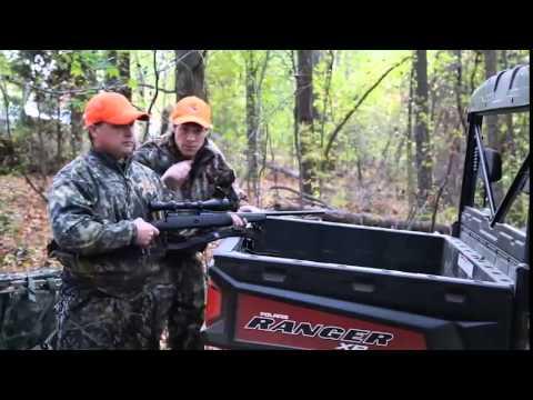 Seizmik Hood Rack for Hunting on Side by Side UTVs