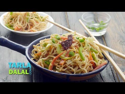 Hakka Noodles by Tarla Dalal