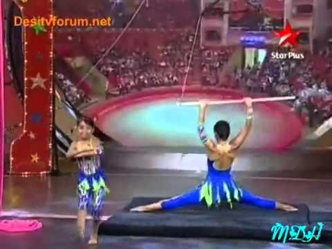 Mukti  amp; Sparsh Circus At Zara Nach Ke Dikha 2 20th June...