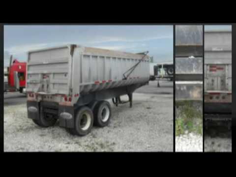 Fruehauf Dump Trailers Fruehauf Aluminum Dump Trailer