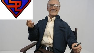 Stan Lee Hot Toys Movie Masterpiece 1/6 Scale Collectible Figure Review
