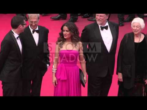 CANNES FILM FESTIVAL 2014 - Julie Gayet, Salma Hayek and more attending the Saint Laurent premiere