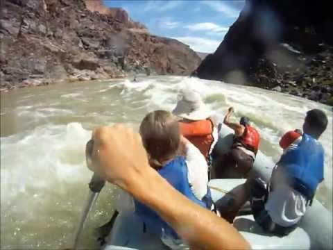 Grand Canyon Kayaking at 25,000 cfs 2011