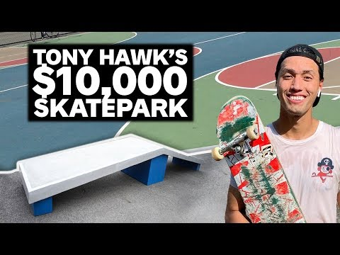 Tony Hawk Paid $10,000 for this Brooklyn Skatepark