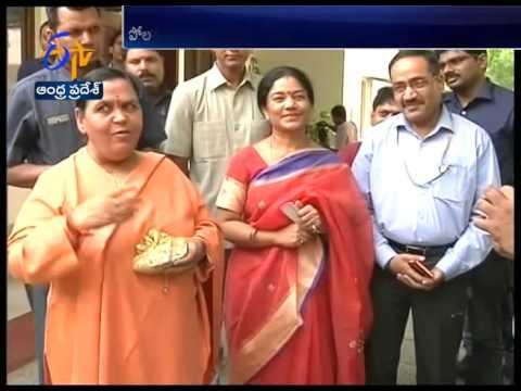 Union Minister Uma Bharti Assures CM Chandrababu Naidu for Completion of Polavaram Project