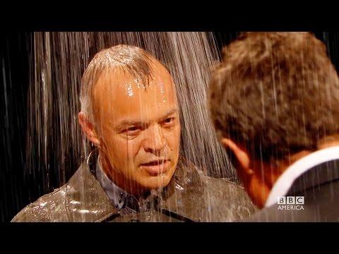 HUGH GRANT & Graham Norton's Love Scene in the Rain - The Graham Norton Show on BBC AMERICA
