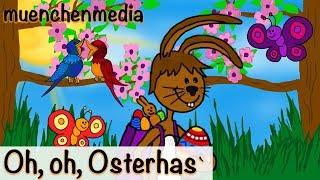Kinderlieder deutsch - Oh, oh, Osterhas` - Osterlieder - Osterhase