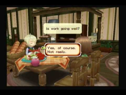 Harvest Moon: Tree of Tranquility - Lunch Date with Gill
