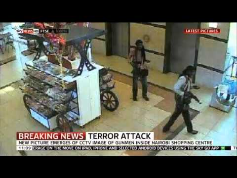 Nairobi Mall Shooting: New CCTV Released