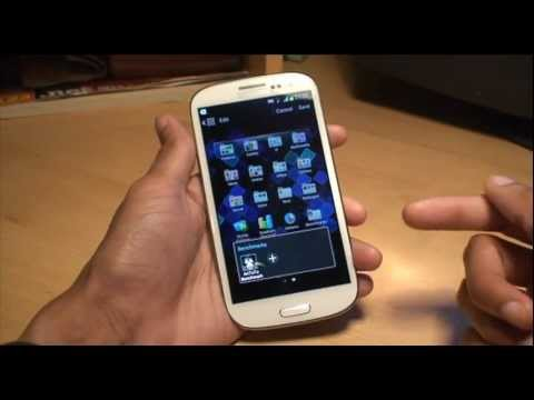 How to Setup / Create Folders & Group Apps on Samsung Galaxy S3 (SIII. i9300)