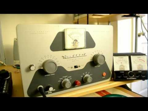 Trouble shooting the Heathkit DX-40.