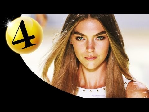 #4 Arizona Muse - Spring 2012 First Face Countdown | FashionTV - FTV