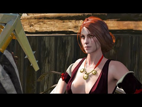 The Redhead Strumpet - All choices - Witcher 3 - New game+ - Part 50