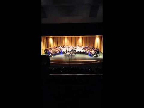 Alma Middle School All Region Mixed Choir 2013