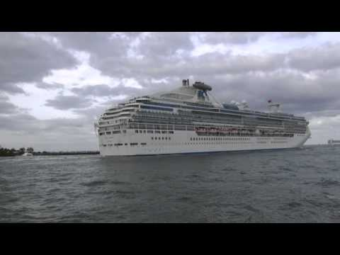 Cruise Ships on Parade - Port Everglades, Florida - March 17, 2013