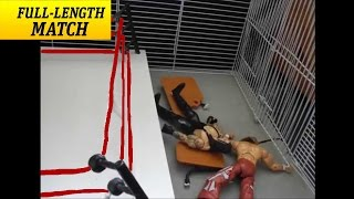 WWE HELL IN A CELL Match The Undertaker vs Shawn Michaels FULL Stopmotion