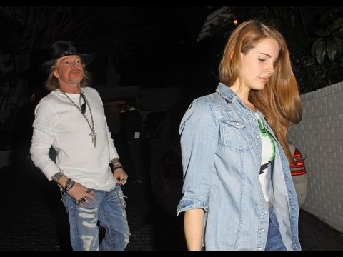 Lana Del Rey and Axl Rose Dating!? Music Videos