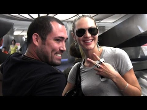 cswanepoel041013Victoria's Secret Supermodel Candice Swanepoel Travelling Casual At LAX