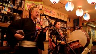 Sanshin and Taiko 西村豪&入間川和美 トゥバラーマ