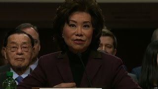 Senators Probe Chao on Transportation Issues