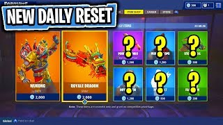 The NEW FEATURED & DAILY Items In Fortnite: Battle Royale! (Skin Reset #77)
