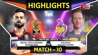 M10: RCB vs KKR – Match Highlights