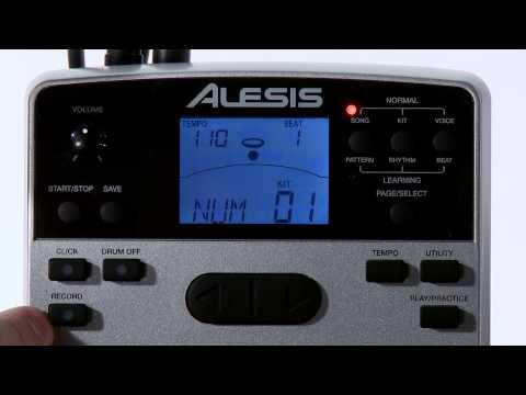 Alesis DM7X Module Settings Overview