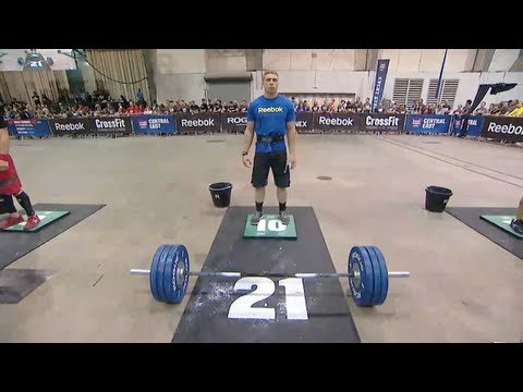 CrossFit - Central East Regional Live Footage: Men's Event 5