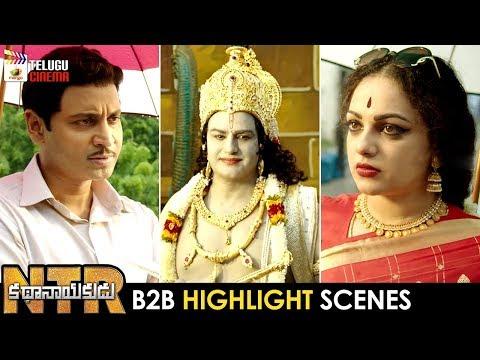 NTR Kathanayakudu B2B HIGHLIGHT SCENES | Balakrishna | Sumanth | Nithya Menen | Mango Telugu Cinema