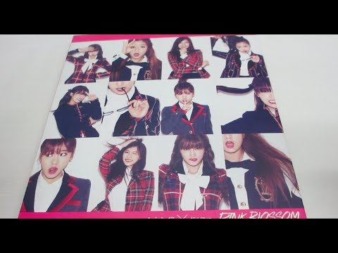 Apink 4th Mini Album 'Pink Blossom' Unboxing!