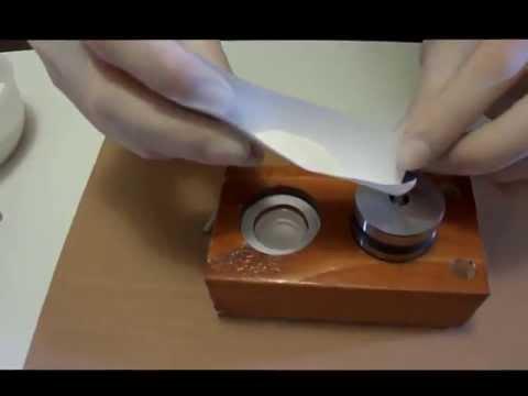 Tablet Pill Press - How to de-jam a TDP 5 - YouTube