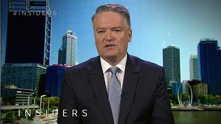 Finance Minister Mathias Cormann backs welfare drug testing | Insiders