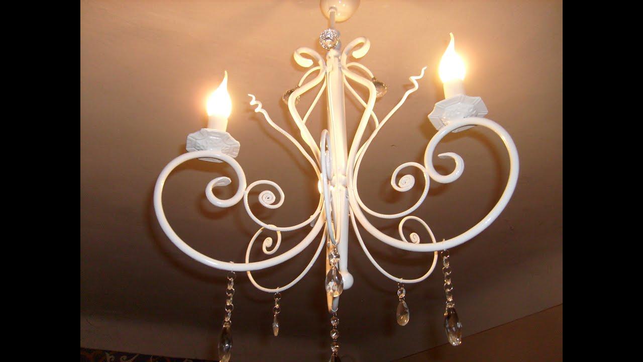 Кованый светильник своими руками из 881