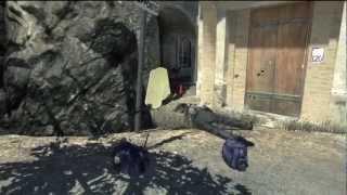 Modern Warfare 3: The Floating Spinning Gun (MW3 Multiplayer Glitch)