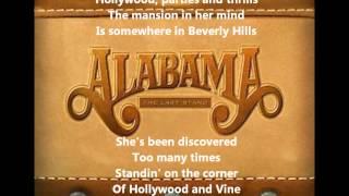 Watch Alabama Hollywood video