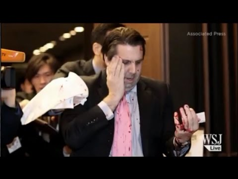 US Ambassador to S.Korea Attacked with Knife (VIDEO)