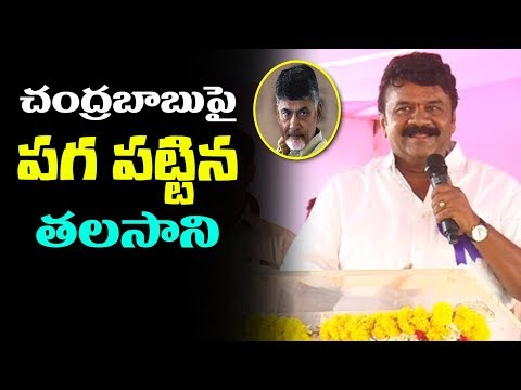 Talasani Srinivas Yadav Controversial Commetns on Mahakutami Leaders | Blames AP CM Chandrababu