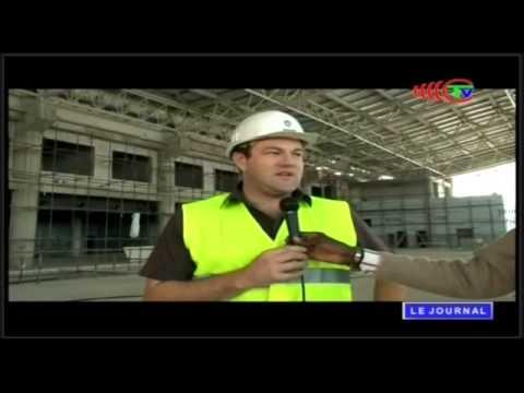 Construction du 2e module de l'aéroport Agostino Neto de Pointe Noire