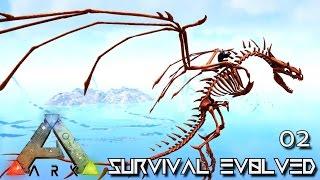 ARK: SURVIVAL EVOLVED - CRAZY POWERFUL WYVERN !!! E02 (MODDED ARK PUGNACIA DINOS)