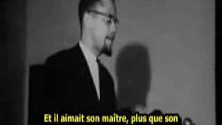 Malcolm X Le N Gre De Maison Et Le N Gre Des Champs