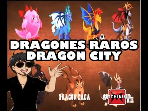 Como Hacer Dragones Raros   Dragon City 2014 HD