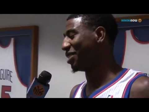 New York Knicks Rookie Iman Shumpert Rapping