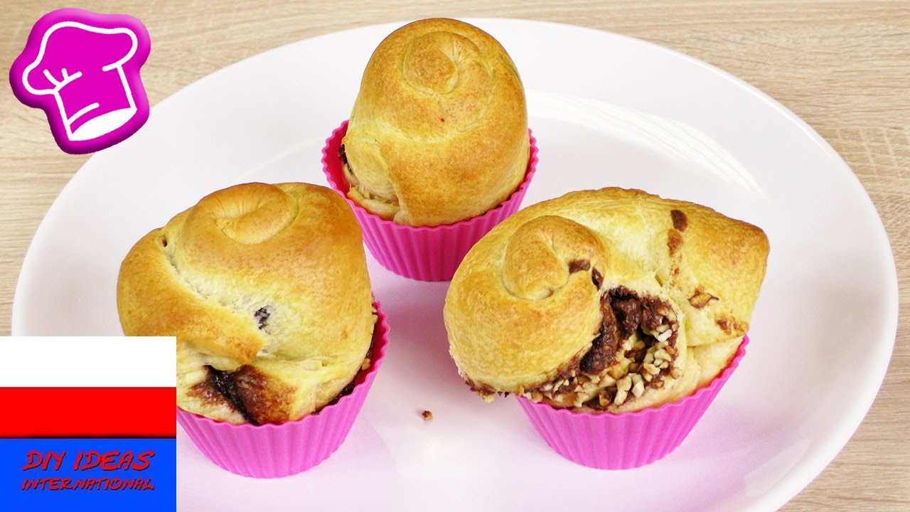 Nutella Cruffins   czekoladowe croissanto-muffiny   tylko 3 składniki