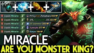 Miracle- [Monkey King] Are you Monster King? Created New Style OP 7.21 Dota 2