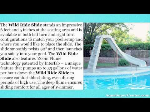 Interfab Wild Ride Swimming Pool Slide
